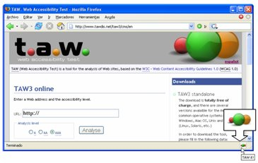 Web Accessibility Test Firefox Extension