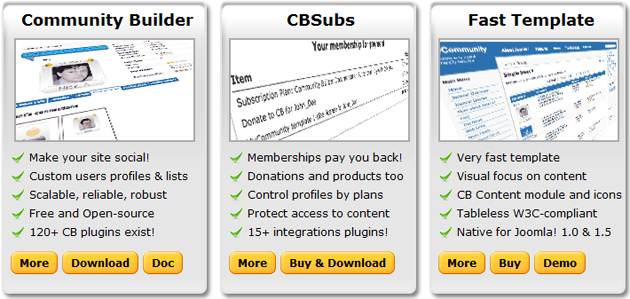from Colby joomla dating community builder