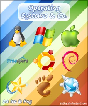 Operating System Icons